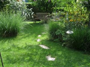 Unser Rasen kann sich sehen lassen!